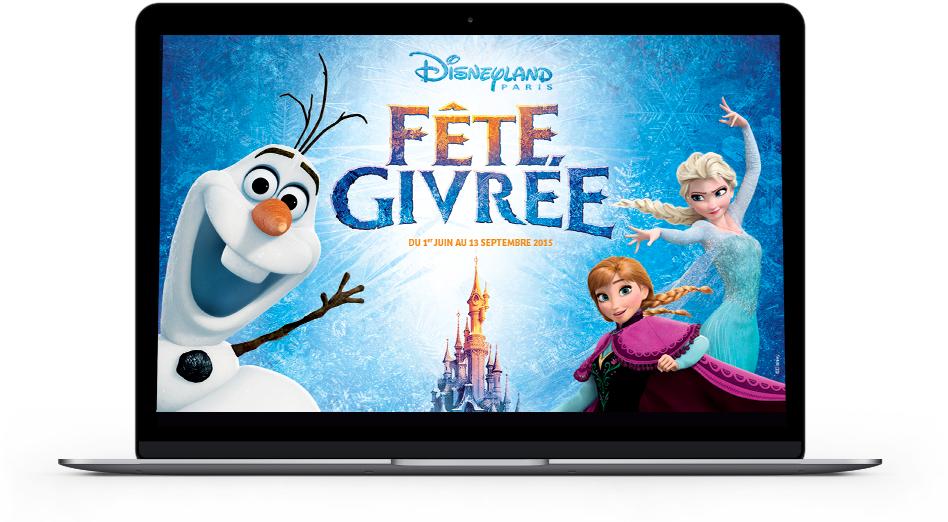 Disneyland paris f te givr e reine des neiges - Jeu reine des neiges en ligne ...